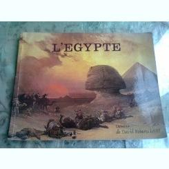 L'EGYPTE - DESSINS DAVID ROBERTS