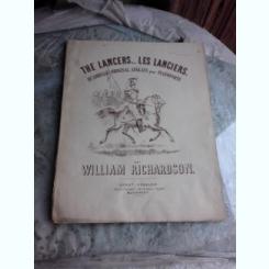 LES LANCIERS - WILLIAM RICHARDSON  (PARTITURA)