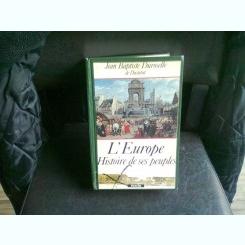L'EUROPE HISTOIRE DE SES PEUPLES