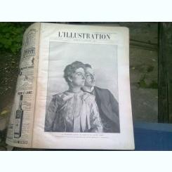 L'ILLUSTRATION REVUE   (REVISTA ARTISTICA)  NUMERELE DIN IANUARIE, FEBRUARIE, MARTIE, APRILIE, MAI, IUNIE 1903 (COLIGATE)