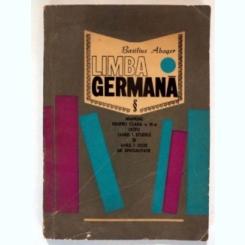 LIMBA GERMANA - BASILIUS ABAGER  (MANUAL CLASA IX-A LICEU)