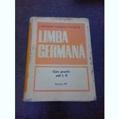 LIMBA GERMANA, CURS ANII I-II