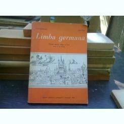 Limba germana - Livia Stefanescu  (manual pentru clasa a V-a/anul IV studiu)