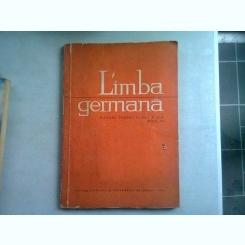 LIMBA GERMANA. MANUAL PENTR CLASA A IX-A (ANUL II)