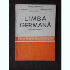 LIMBA GERMANA, MANUAL PENTRU CLASA A IX-A - IDA ALEXANDRESCU