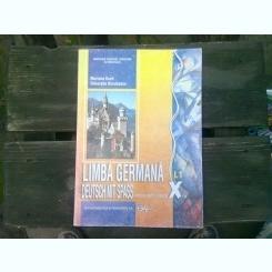 LIMBA GERMANA. MANUAL PENTRU CLASA A VIII-A - SILVIA FLOREA