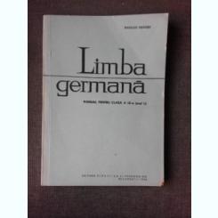 LIMBA GERMANA, MANUAL PENTRU CLASA IX-A , BASILIUS ABAGER