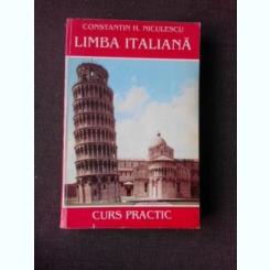 LIMBA ITALIANA, CURS PRACTIC - CONSTANTIN H. NICULESCU