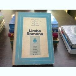 Limba romana. Anul IV pentru scolile profesionale speciale de surzi - Bernaz Georgeta