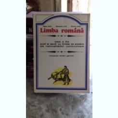 LIMBA ROMANA. CLASA A III-A /VOCABULAR ROMAN-GERMAN - BALLA SARA