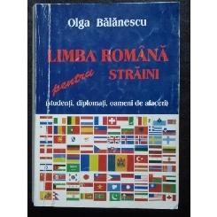 LIMBA ROMANA PENTRU STRAINI - OLGA BALANESCU