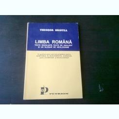 LIMBA ROMANA- THEODOR HRISTEA