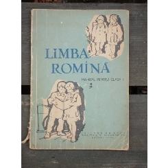 LIMBA ROMINA - MANUAL CLASA I