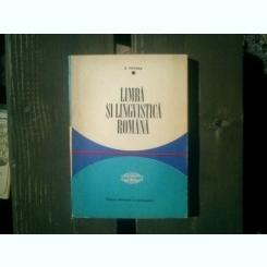 Limba si lingvistica romana - D. Macrea