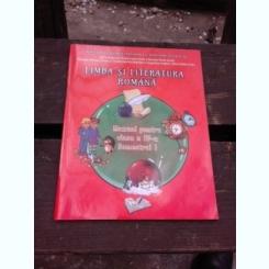 LIMBA SI LITERATURA ROMANA, MANUAL PENTRU CLASA A IV-A, SEMESTRUL I, CONTINE CD
