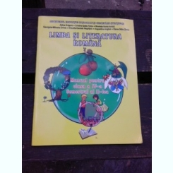 LIMBA SI LITERATURA ROMANA, MANUAL PENTRU CLASA A IV-A, SEMESTRUL II - ADINA GRIGORE  CONTINE CD