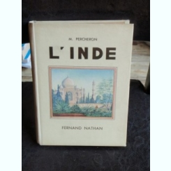 L'INDE - M. PERCHERON