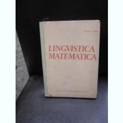 LINGVISTICA MATEMATICA - SOLOMON MARCUS