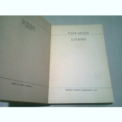 LITANII - TUDOR ARGHEZI