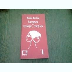LITERATURA INTRE REVOLUTIE SI EVOLUTIE - SANDA CORDOS