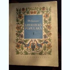 Literatura populara - Mihai Eminescu