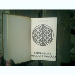 Literatura populara romana - Ovidiu Papadima