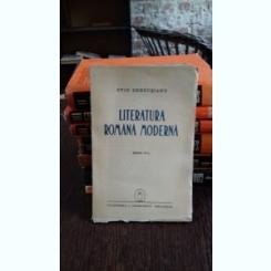 LITERATURA ROMANA MODERNA - OVID DENSUSIANU