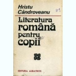 Literatura romana pentru copii Hristu Candroveanu