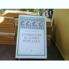 Literatura si limba populara - Miron Pompiliu