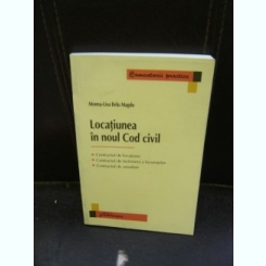 LOCATIUNEA IN NOUL COD CIVIL - MONNA-LISA BELU MAGDO