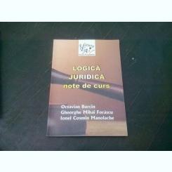 LOGICA JURIDICA. SUPORT DE CURS - OCTAVIAN BURCIN
