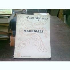 Madrigale - Doru Popovici (partitura)