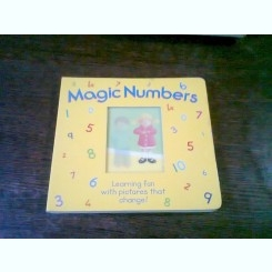 MAGIC NUMBERS. LEARNING FUN WITH PICTURES THAT CHANGE  *TEXT IN LIMBA ENGLEZA)