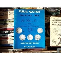 Mail Bid Sale #63 , Holiday Inn West - Decatur , 1973