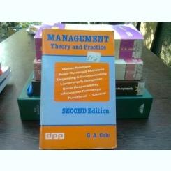 Management - G.A. Cole  (management, teorie si practica)