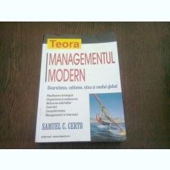 MANAGEMENTUL MODERN - SAMUEL C. CERTO