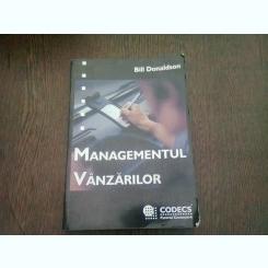 MANAGEMENTUL VANZARILOR - BILL DONALDSON