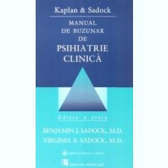 MANUAL DE BUZUNAR DE PSIHIATRIE CLINICA - KAPLAN SI DADOCK