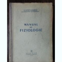 MANUAL DE FIZIOLOGIE - L.A.ANDREEV & CO