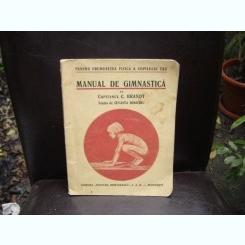 MANUAL DE GIMNASTICA - CAPITAN C. BRANDT