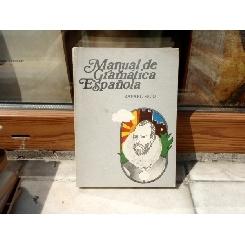 MANUAL DE GRAMATICA ESPANOLA , Rafael Seco , 1973