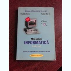 MANUAL DE INFORMATICA PROFIL REAL, CLASA VI-A - VLAD HUTANU, TUDOR SORIN
