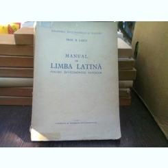 Manual de limba latina - N. Lascu  (pentru invatamantul superior)