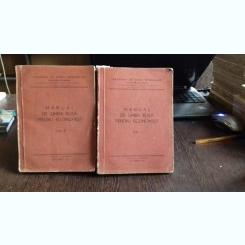 MANUAL DE LIMBA RUSA PENTRU ECONOMISTI  - 2 VOLUME