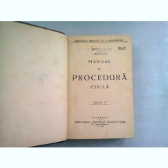MANUAL DE PROCEDURA CIVILA NR.5
