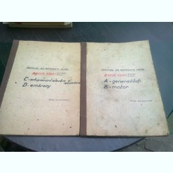 MANUAL DE REPARATII MR150, DACIA 1300 BERLINA SI BREAK - MIHAI DIACONEASA  2 VOLUME