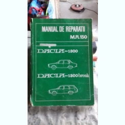 MANUAL DE REPARATII M.R.150. DACIA 1300. DACIA 1300 BREAK