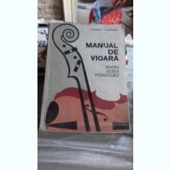 MANUAL DE VIOARA PENTRU LICEELE PEDAGOGICE - P. TIPORDEI