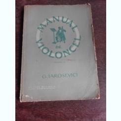 MANUAL DE VIOLONCEL - G. IAROSEVICI  VOL.II+ANEXE