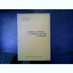 Manual pentru o predare activa a limbilor - Rene Richterich, A. Margaret J. Stott, Gilbert Dalgalian